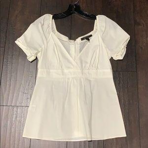 BCBG shirt white small